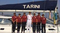 Indian Navy inducts first all-women global circumnavigation vessel 'Tarini'