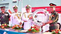 INS Sahyadri: Navy ship affiliated to Army
