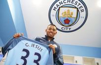 Gabriel Jesus targets trophies after completing Manchester City move