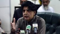 Info Min Rashid did not make any attempt to stop 'false' story: Pak Interior Min Nisar Ali Khan