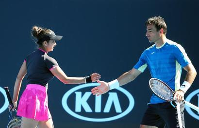 Aus Open: Contrasting wins for Sania, Bopanna in mixed doubles