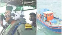 Cyclone Ockhi: Indian Coast guards continue rescue operation