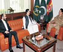 Gilani, son call on COAS