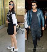 Parineeti Chopra and Arjun Kapoor SLAY the airport style  view HQ pics