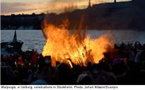 Walpurgis night partying ends in violence