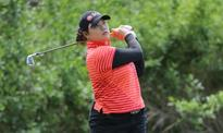 Closing eagle keeps Ariya ahead in LPGA treble bid