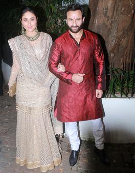 PIX: Kareena, Saif, Shahid, Mira party with Aamir