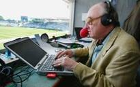 Henry Blofeld hints his old Etonian accent had a 'certain disadvantage' at the BBC