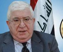 Iraq President says no need for Arab nations to join air strikes on Islamic State group