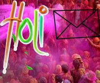 Holi SMS for heartiest wishes