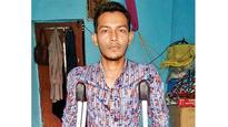 DNA CAMPAIGN: Disabled boy scores 90% in SSC, hopes to join IIT