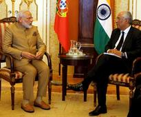 PM Modi holds talks with Portuguese counterpart
