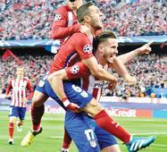 Niguez stunner puts Atletico past Bayern
