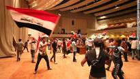 Chaos in Baghdad amid protests