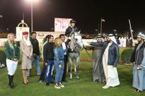 Sniper De Monlau Makes Target in Abu Dhabi Feature Race
