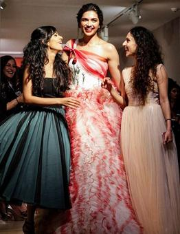 Deepika's gown will remind you of candy floss
