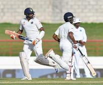 Live Cricket Score of India vs West Indies, 3rd Test, Day 2 at Gros Islet, St Lucia
