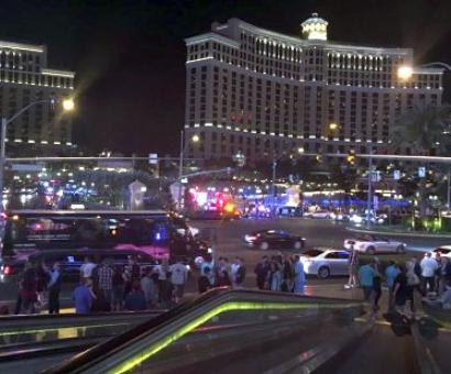 Vegas casino Bellagio in lockdown as gunman on the loose
