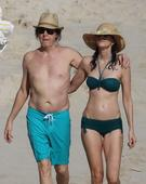 Paul McCartney and Nancy Shevell show off beach bodies as Beatles legend's wife flaunts toned figure
