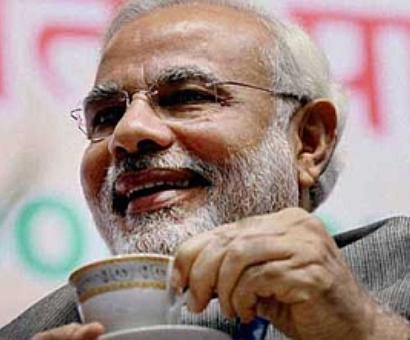 It's tea with Modi again, this time for bureaucrats