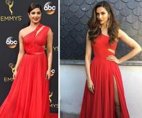 Fashion face-off: celebrities who matched with the red carpet