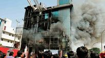 Fire breaks out at high-rise building; second such incident in just a week