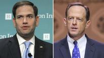 Poll: Rubio, Toomey losing ground in Senate races