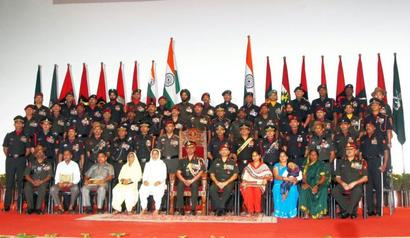India's heroes honoured for surgical strikes across LoC