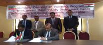 Council of Scientific & Industrial Research (CSIR) signs Agreement with the Metal Industries Development Institute (MIDI), Ethiopia