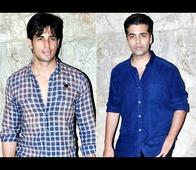 OMG: Karan Johar and Sidharth Malhotra spend time together