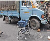 40 per cent vehicles fail emission test