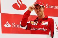 Ferrari's Sebastian Vettel begins F1 2015 with big ambitions