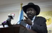 S. Sudan President Threatens to Personally Run Military if Road Attacks Continue