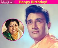 Lata Mangeshkar wished Dev Anand on his birthday in a way that made us nostalgic