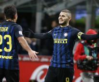 Serie A roundup: Inter Milan beat Fiorentina 4-2; Napoli draw against Sassuolo