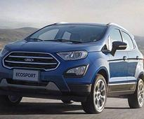 Ford to launch 2018 EcoSport facelift in India in November