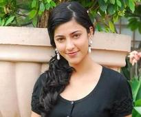 Shruti loves her new look