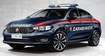 New Fiat Tipo Rendered In Italian Police Livery