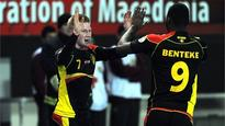 Belgium lead the way in Group A on goal difference after a comfortable win over FYR Macedonia, with Chelsea midfielder Eden Hazard scoring from the sp...