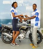 MOTO X CHAMP  Oswald Simon Wins A Yamaha Motorcycle