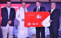 Vodafone 4G services can be readily accessed from 4G
