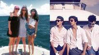 Aryan Khan and Navya Naveli go sailing with friends in Phuket