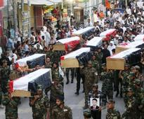 Iraq hangs 36 for killing of troops in 2014