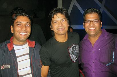 Spotted: Shaan in Hyderabad