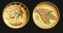 For The First Time In History, US To Have A $100 Gold Coin With A Black 'Lady Liberty'