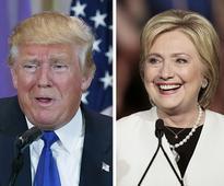 Hillary Clinton slams Donald Trump for running a negative campaign