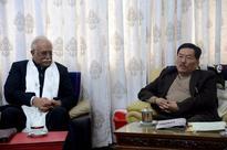 CM meets Union Civil Aviation Min ;discusses Pakyong Airport