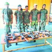 Five GNLA cadres surrender