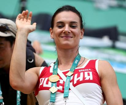 Barred from Games, Russia's Isinbayeva to join IOC athletes' body