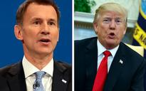 Donald Trump in Twitter row with Jeremy Hunt as he attacks 'broke' NHS